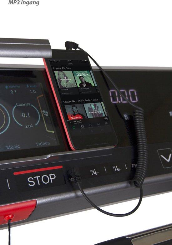 VirtuFit TR-500i loopband muziek