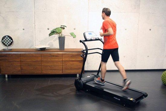 focus fitness slimline loopband in gebruik