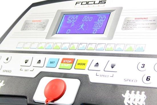 focus fitness slimline monitor