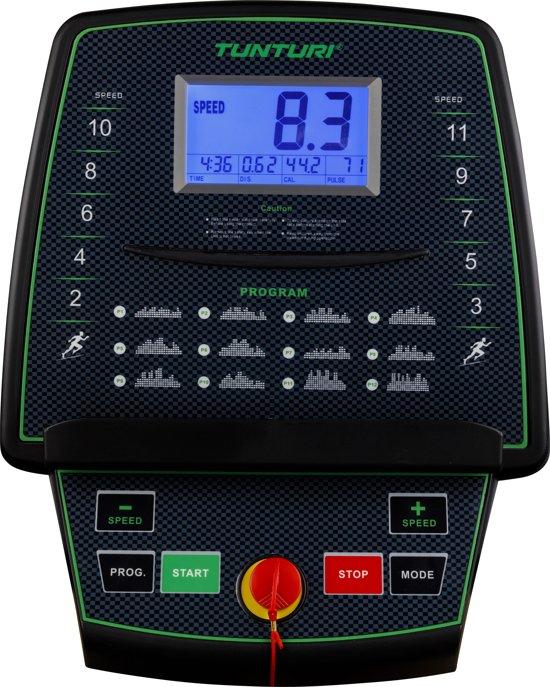 tunturi cardio fit t30 loopband console