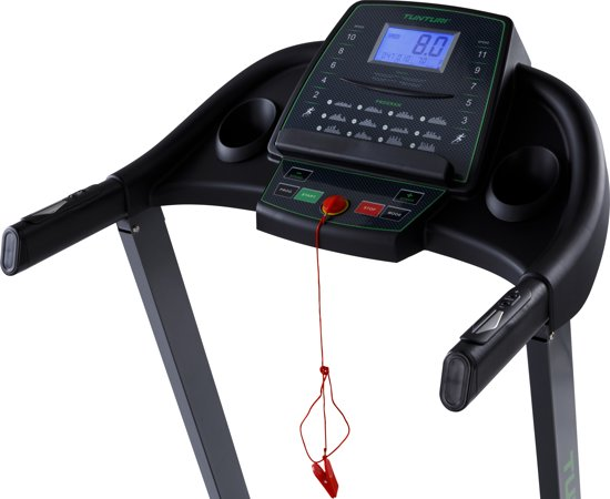 tunturi cardio fit t30 loopband monitor