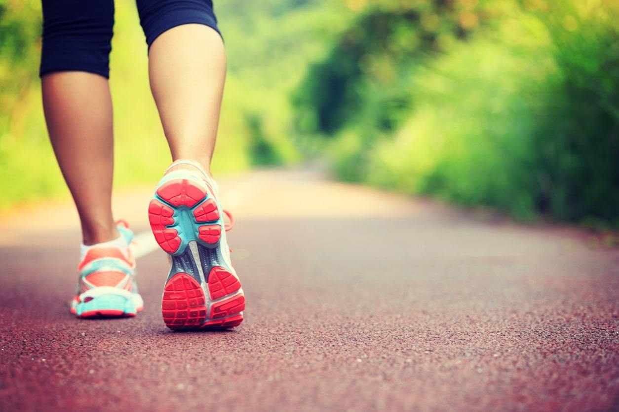 Om buiten te hardlopen heb je aangepast schoeisel nodig