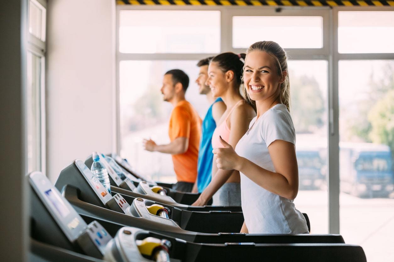 Trainen op de loopband geeft gezondheidsvoordelen