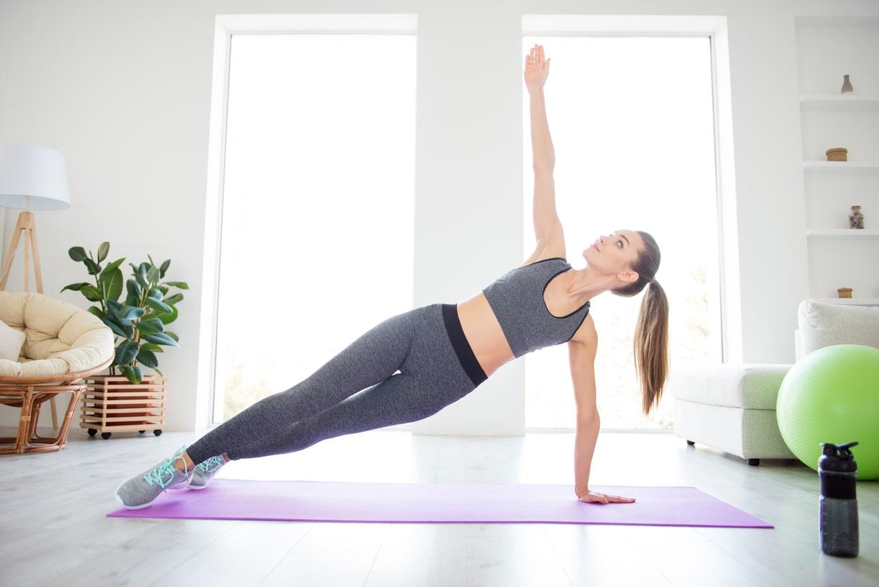side plank goed voor core lichaam