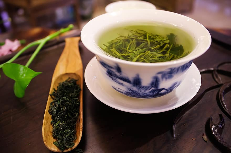 kop groene thee voor afvallen